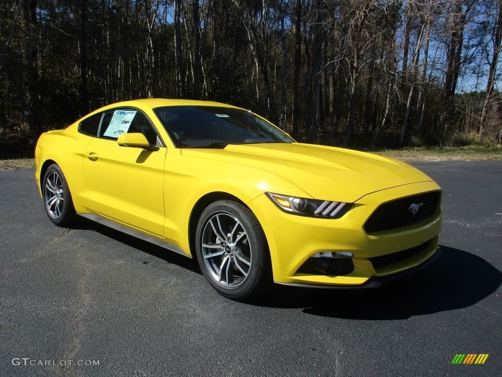 Image Gallery 2016 Mustang Yellow
