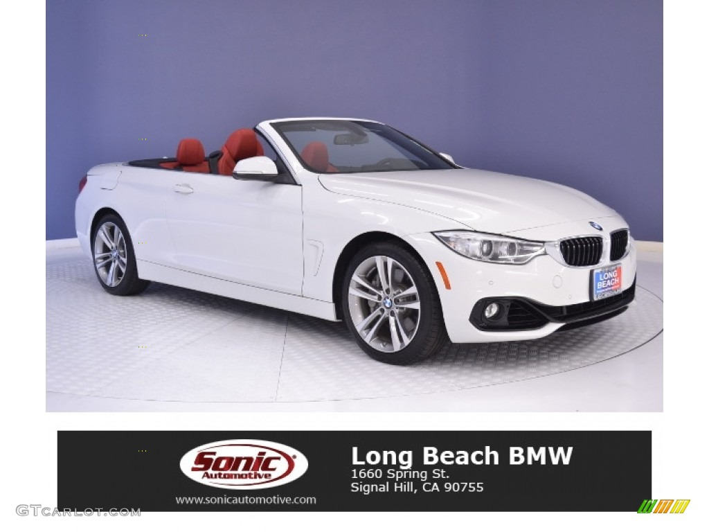 2016 Alpine White Bmw 4 Series 435i Convertible 111130938 Car Color Galleries