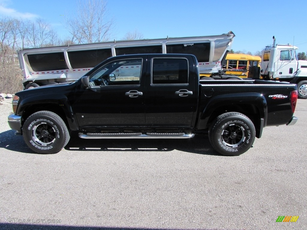 2007 onyx black gmc canyon sle crew cab 4x4 111131033. Black Bedroom Furniture Sets. Home Design Ideas