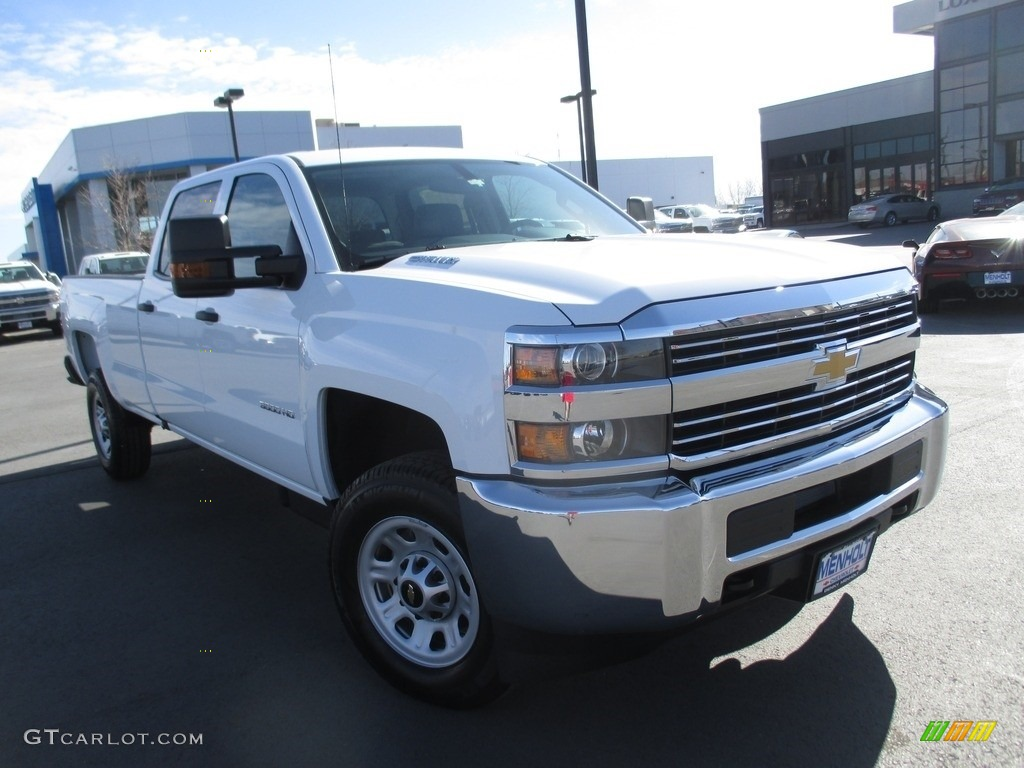 2016 summit white chevrolet silverado 3500hd wt crew cab. Black Bedroom Furniture Sets. Home Design Ideas