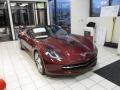 Long Beach Red Metallic Tintcoat 2016 Chevrolet Corvette Stingray Convertible
