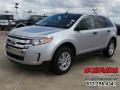 Ingot Silver Metallic 2011 Ford Edge SE