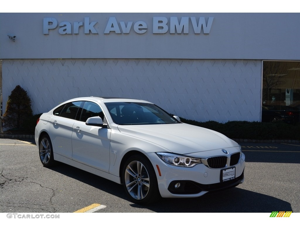2016 alpine white bmw 4 series 428i xdrive gran coupe 111153762 car color. Black Bedroom Furniture Sets. Home Design Ideas