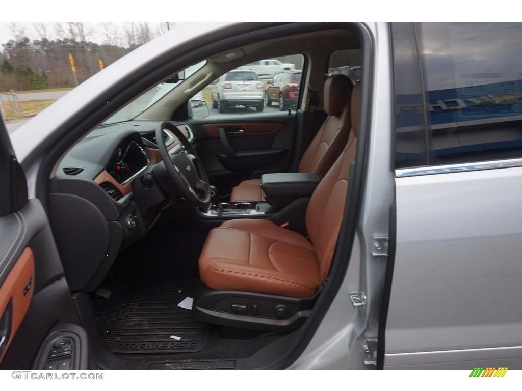 Ebony Saddle Up Interior 2016 Chevrolet Traverse Lt Photo 111168472