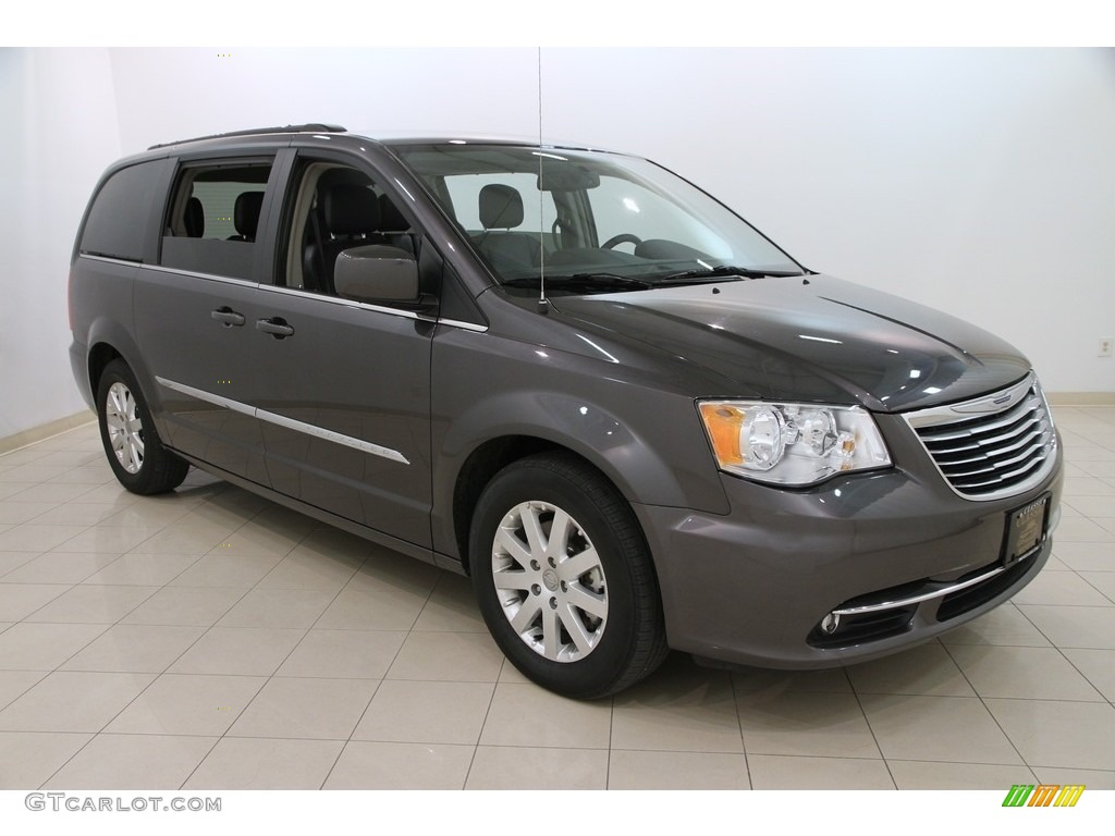 2015 Granite Crystal Metallic Chrysler Town Country Touring And