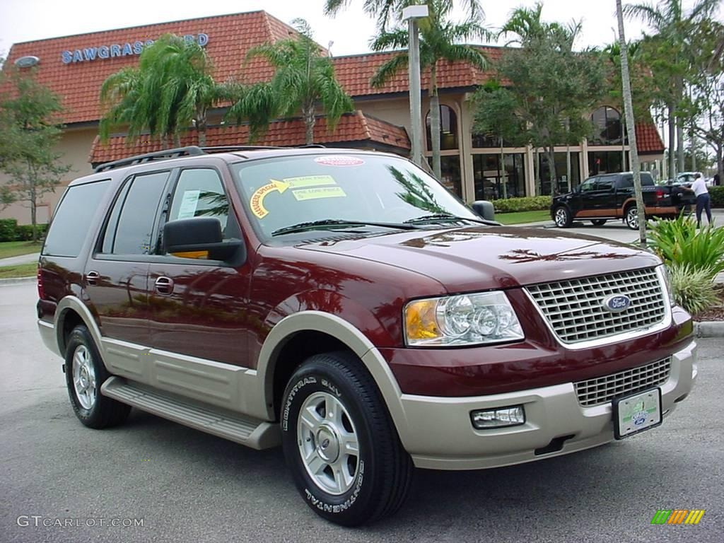 Dark Copper Metallic Ford Expedition Eddie Bauer - 2006 expedition