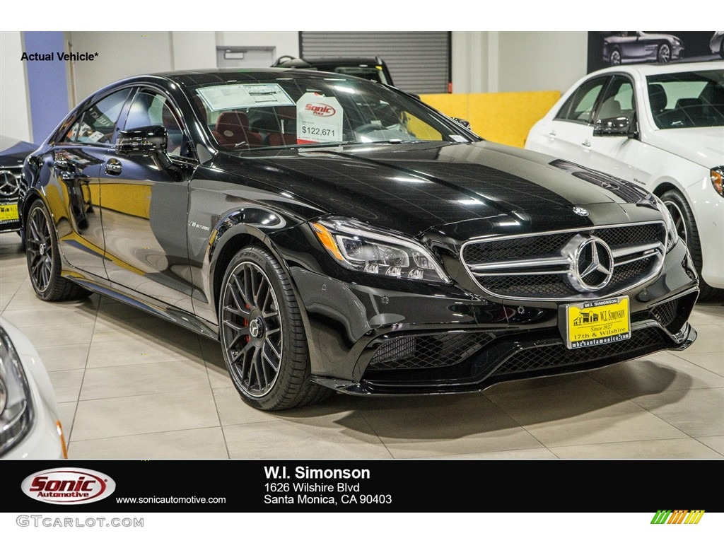 2016 black mercedes benz cls amg 63 s 4matic coupe for Mercedes benz color