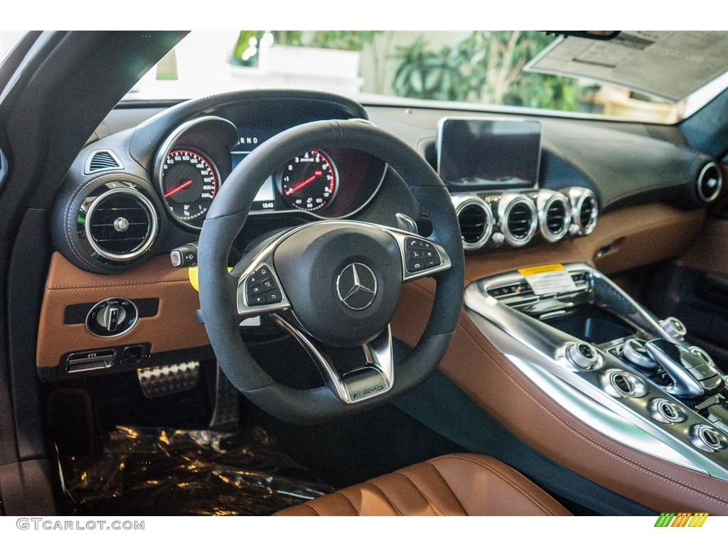 Saddle Brown Exclusive Interior 2016 Mercedes Benz Amg Gt S Coupe Photo 111189515