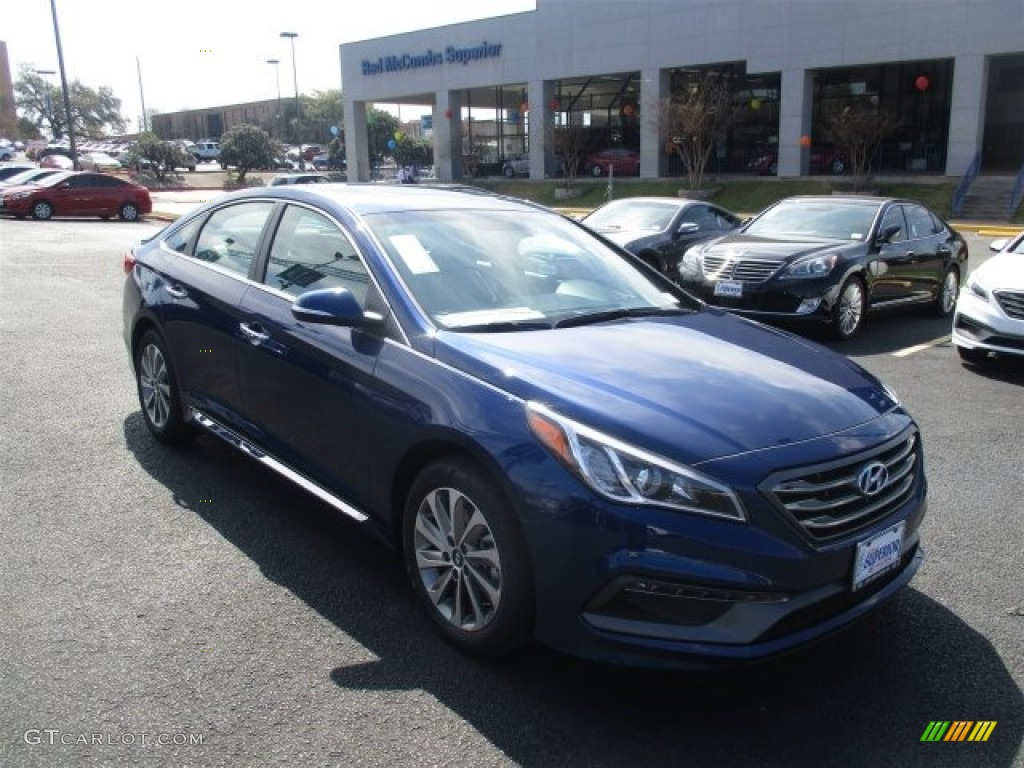 2016 lakeside blue hyundai sonata sport 111184158 car color galleries. Black Bedroom Furniture Sets. Home Design Ideas