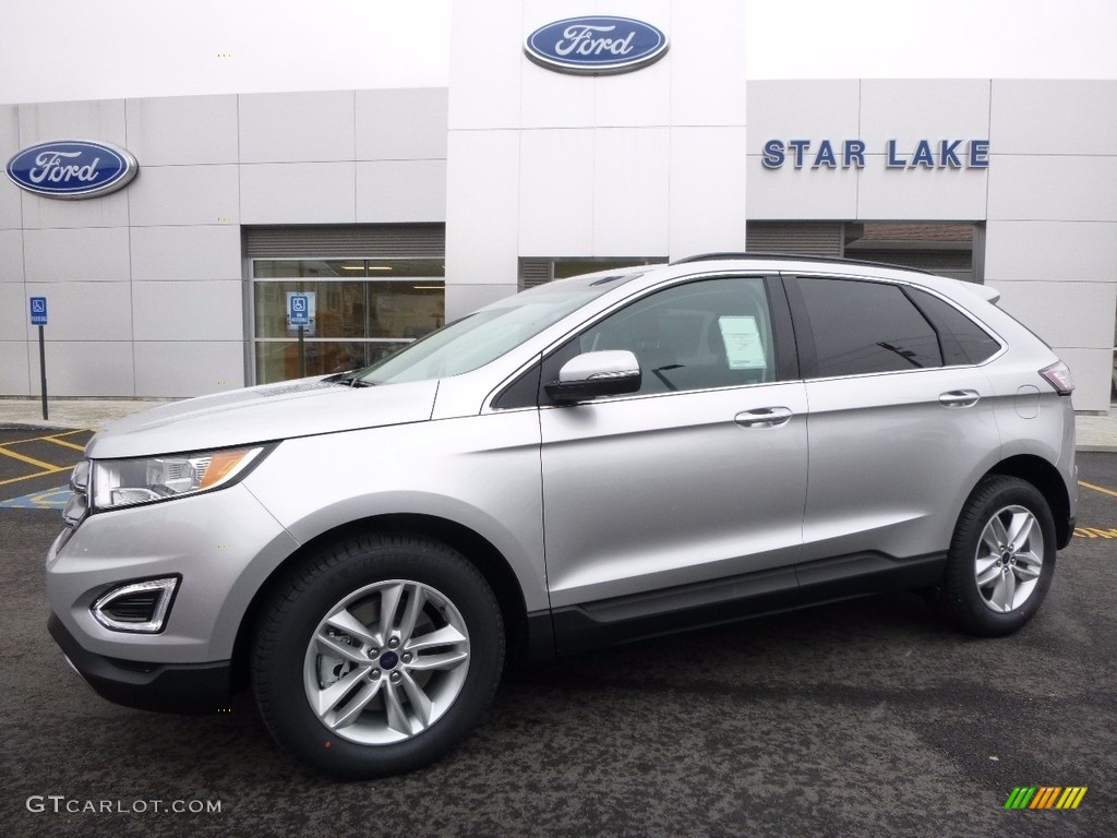 Ford Edge Colors >> 2016 Ingot Silver Ford Edge SEL AWD #111184487 | GTCarLot.com - Car Color Galleries