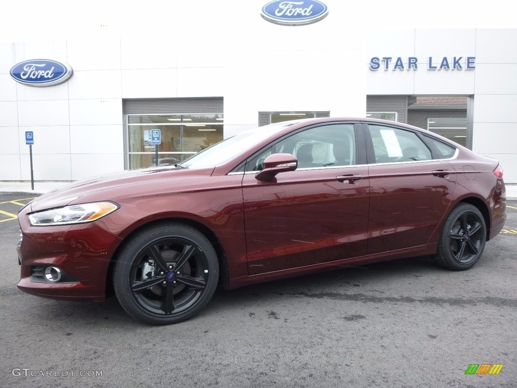 2016 Bronze Fire Metallic Ford Fusion Se 111184486