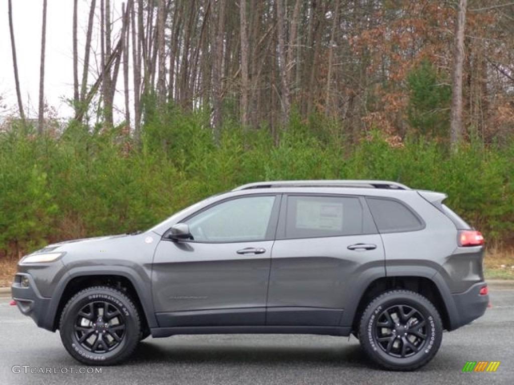 2016 granite crystal metallic jeep cherokee trailhawk 4x4 111213187 car color. Black Bedroom Furniture Sets. Home Design Ideas