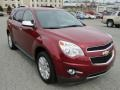 Cardinal Red Metallic 2011 Chevrolet Equinox LT