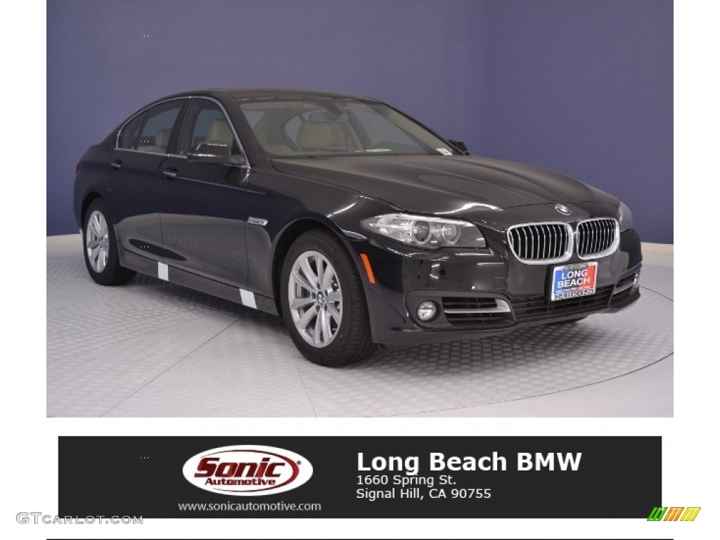 Jet Black BMW 5 Series