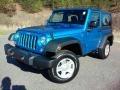 Hydro Blue Pearl 2016 Jeep Wrangler Gallery