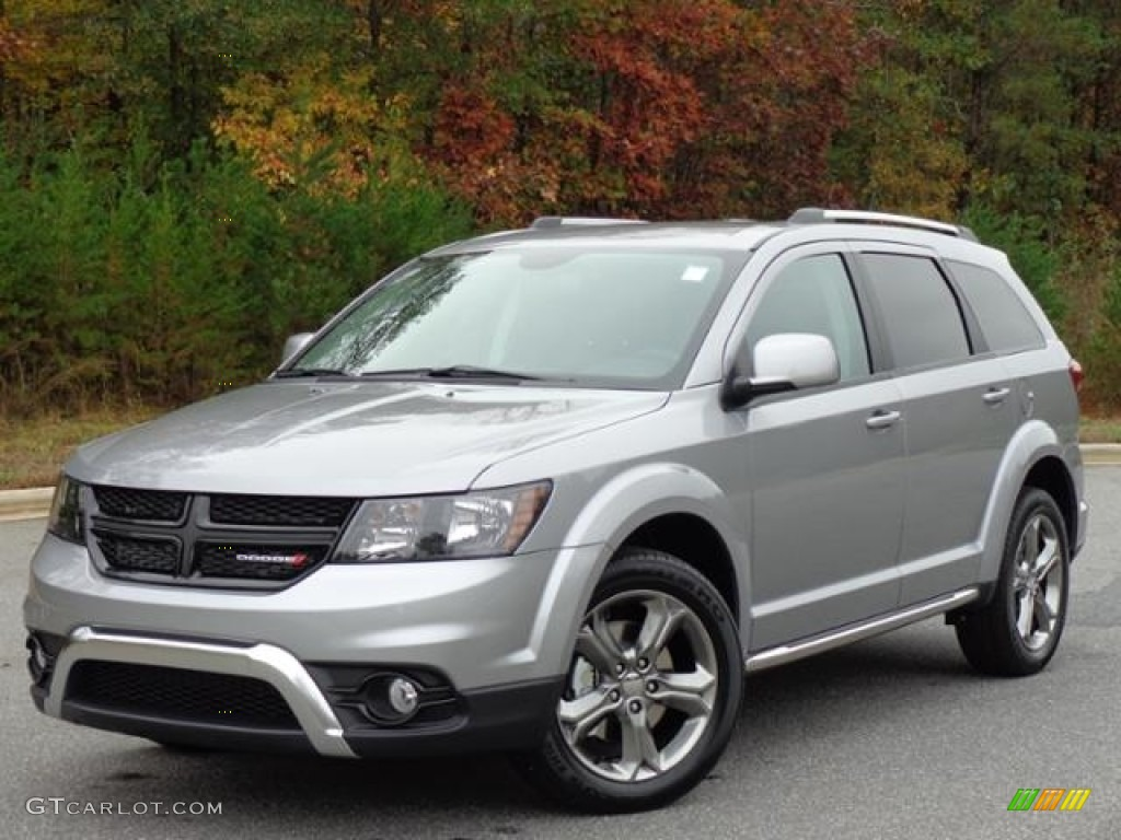 Billet Silver Metallic 2016 Dodge Journey Crossroad Plus Exterior ...