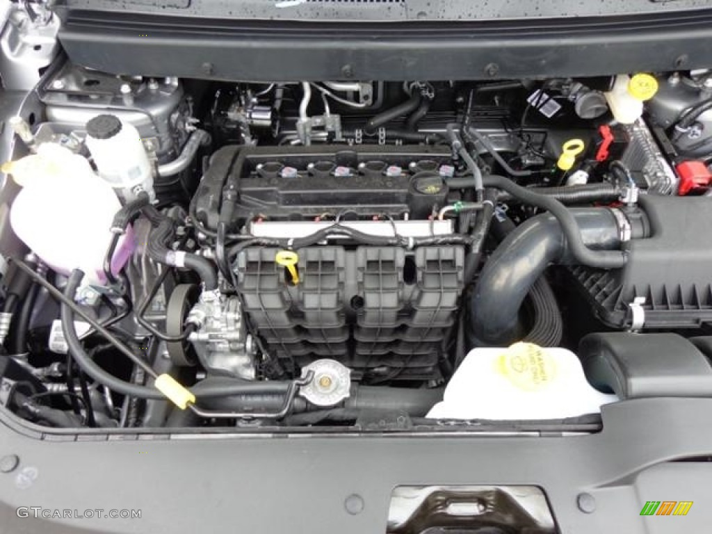 2016 Dodge Journey Crossroad Plus 24 Liter DOHC 16Valve VVT 4