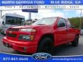 Victory Red 2004 Chevrolet Colorado LS Extended Cab