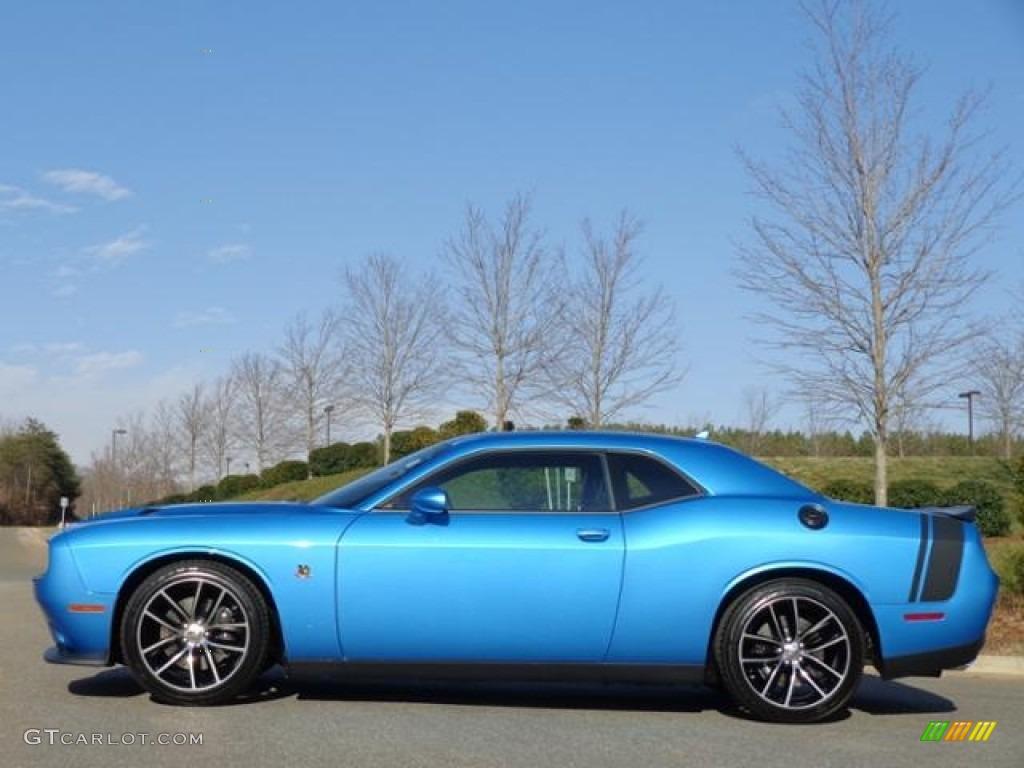 Dodge Challenger Hellcat Blue >> 2016 B5 Blue Pearl Dodge Challenger R/T Plus #111213225 | GTCarLot.com - Car Color Galleries
