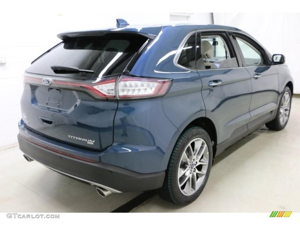 2016 Edge Titanium AWD - Too Good to Be Blue / Ceramic photo #4  sc 1 st  GTcarlot.com & 2016 Too Good to Be Blue Ford Edge Titanium AWD #111212765 Photo ... markmcfarlin.com