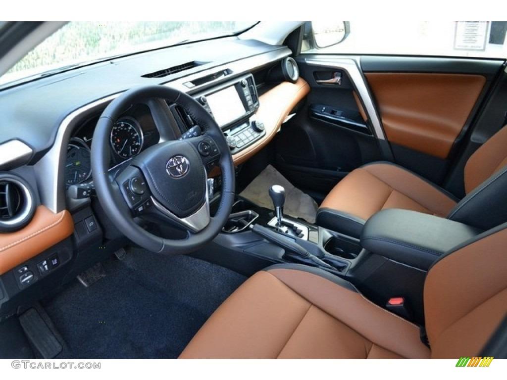 Cinnamon Interior 2016 Toyota RAV4 Limited Hybrid AWD ...