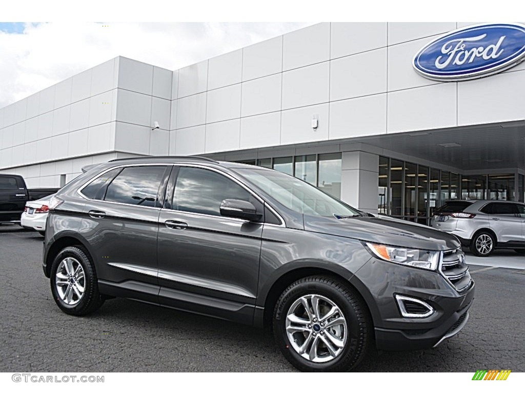 Ford Edge Colors >> 2016 Magnetic Ford Edge SEL #111280511 Photo #7 | GTCarLot.com - Car Color Galleries