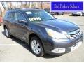 Graphite Gray Metallic 2012 Subaru Outback 2.5i Limited