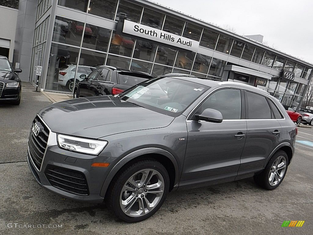 2016 monsoon gray metallic audi q3 2 0 tsfi prestige quattro 111306382 car. Black Bedroom Furniture Sets. Home Design Ideas