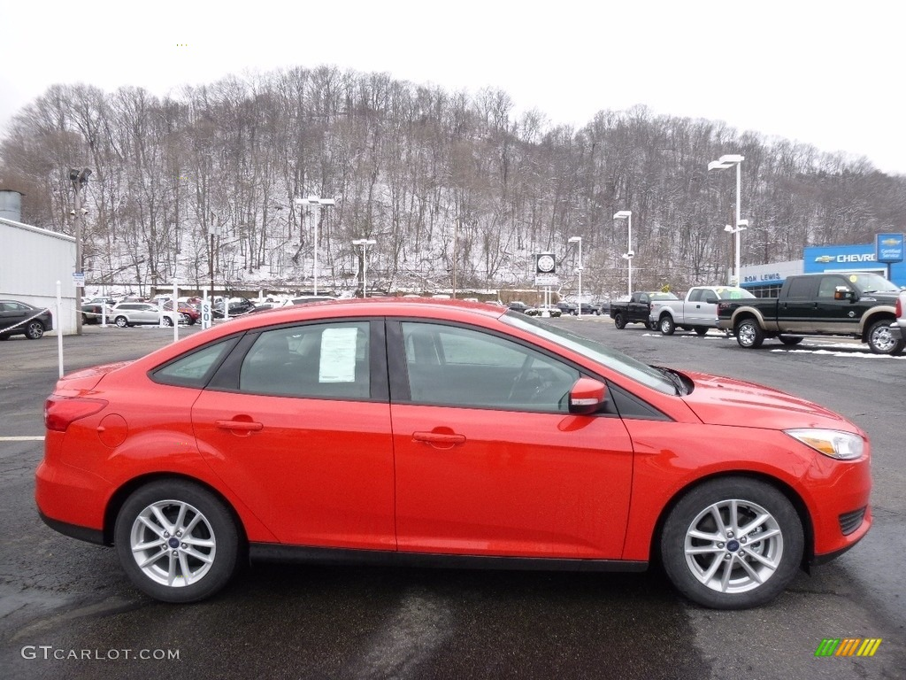 Race Red Ford Focus