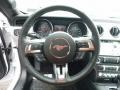 2016 Ford Mustang Dark Ceramic Interior Steering Wheel Photo
