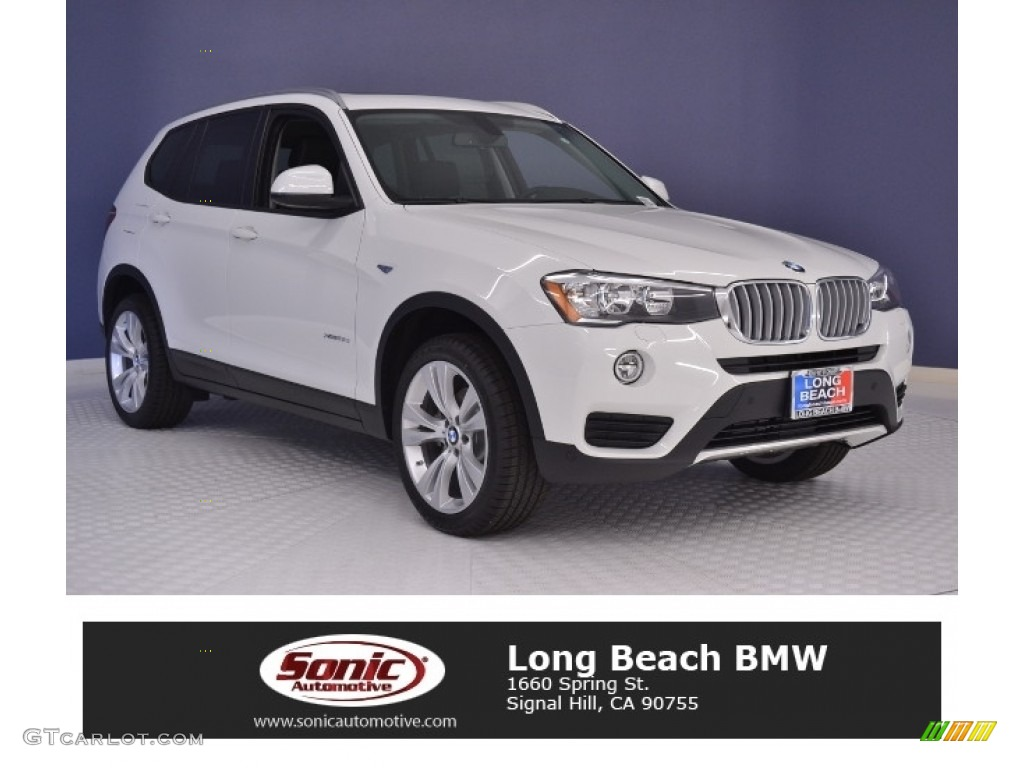 2016 alpine white bmw x3 xdrive28d 111324635 car color galleries. Black Bedroom Furniture Sets. Home Design Ideas