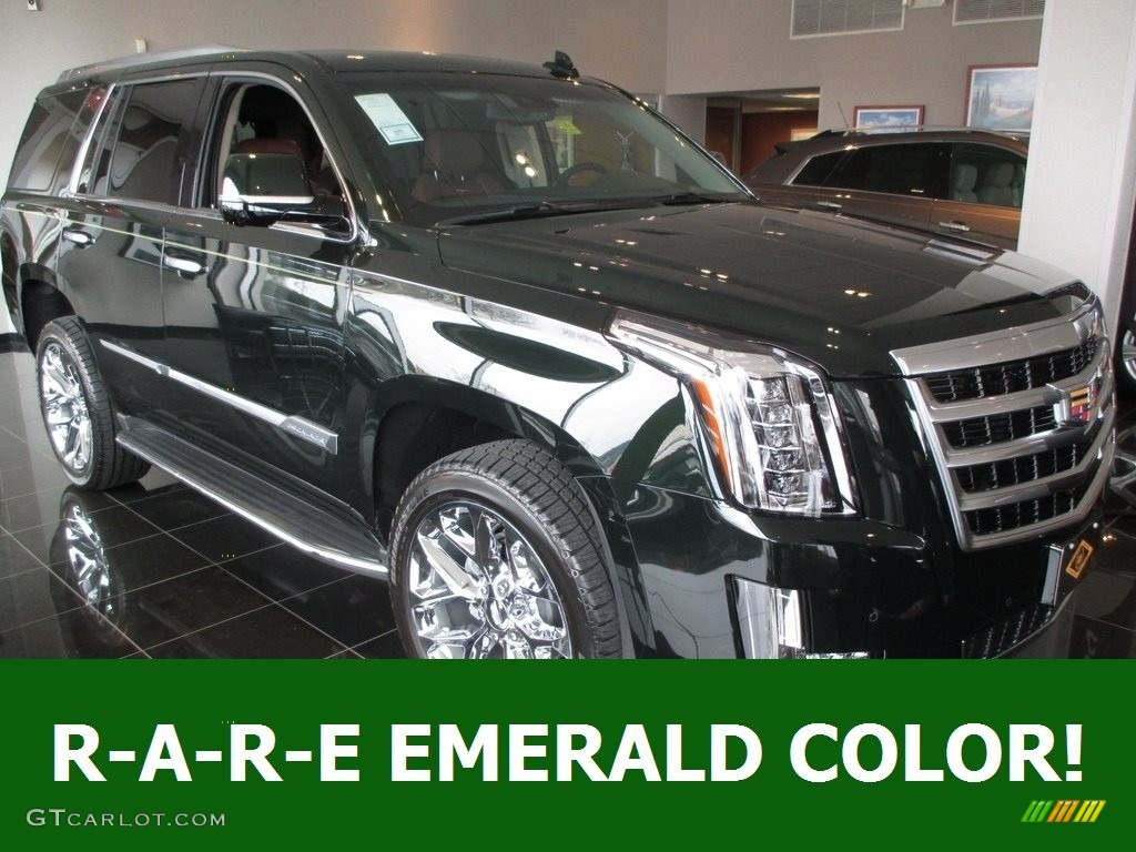 Dark Emerald Metallic Cadillac Escalade