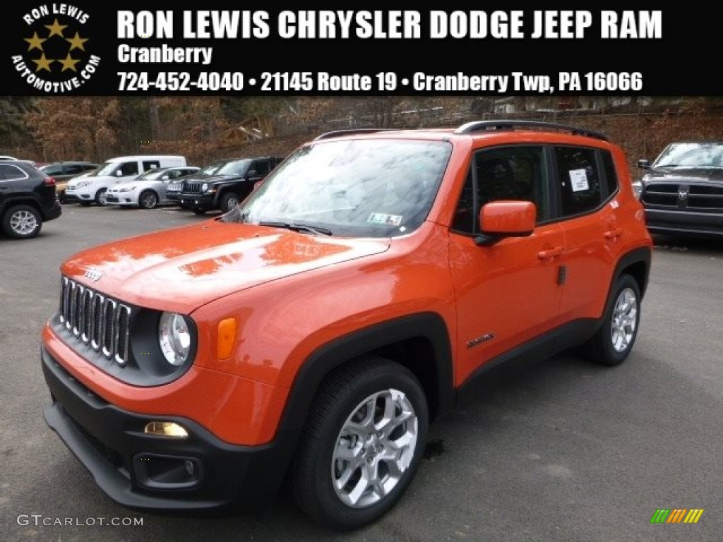 2016 omaha orange jeep renegade latitude 111328340 car color galleries. Black Bedroom Furniture Sets. Home Design Ideas