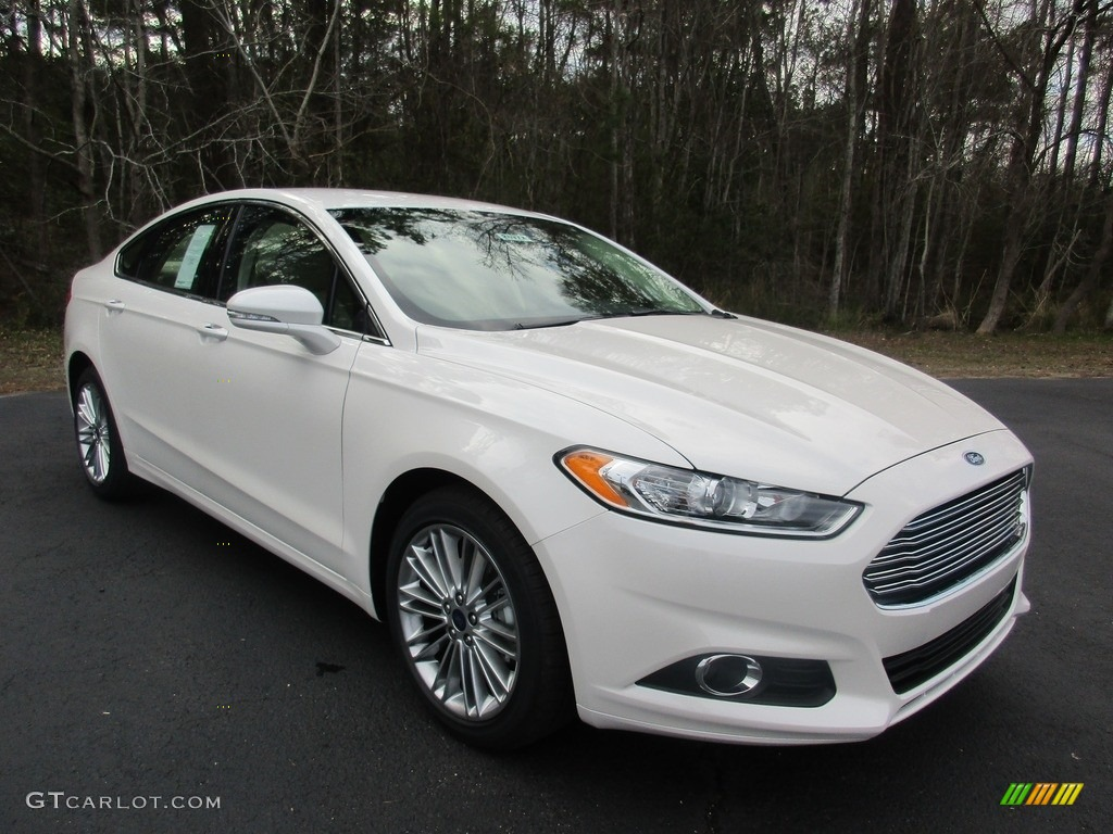 Oxford White Ford Fusion 2017 >> 2016 White Platinum Tri-Coat Metallic Ford Fusion SE #111328537 Photo #21 | GTCarLot.com - Car ...