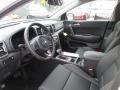 2017 Sportage EX AWD Black Interior