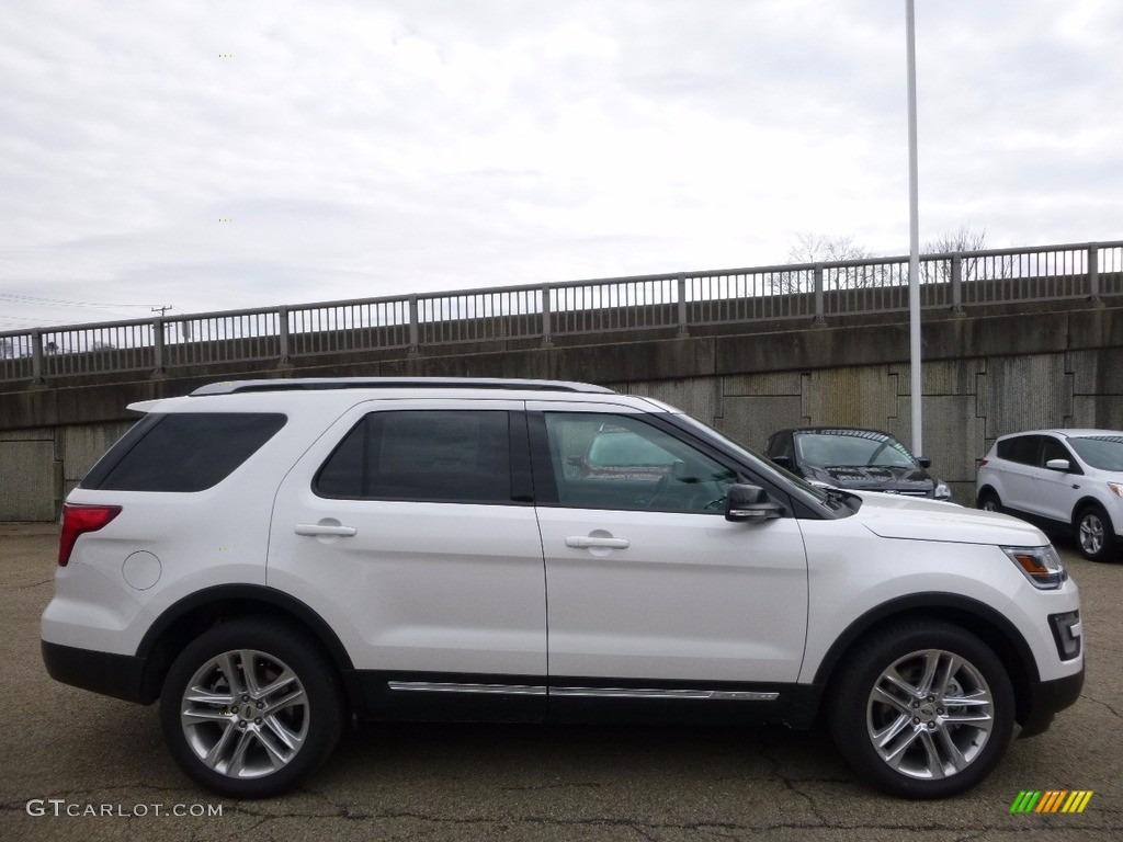 2016 Explorer XLT 4WD - Oxford White / Ebony Black photo #1