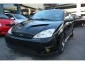 2003 Pitch Black Ford Focus SVT Hatchback  photo #2