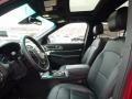 2016 Ford Explorer Ebony Black Interior Front Seat Photo