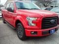2016 Race Red Ford F150 XLT SuperCrew  photo #10