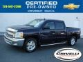 2012 Imperial Blue Metallic Chevrolet Silverado 1500 LT Crew Cab 4x4  photo #1