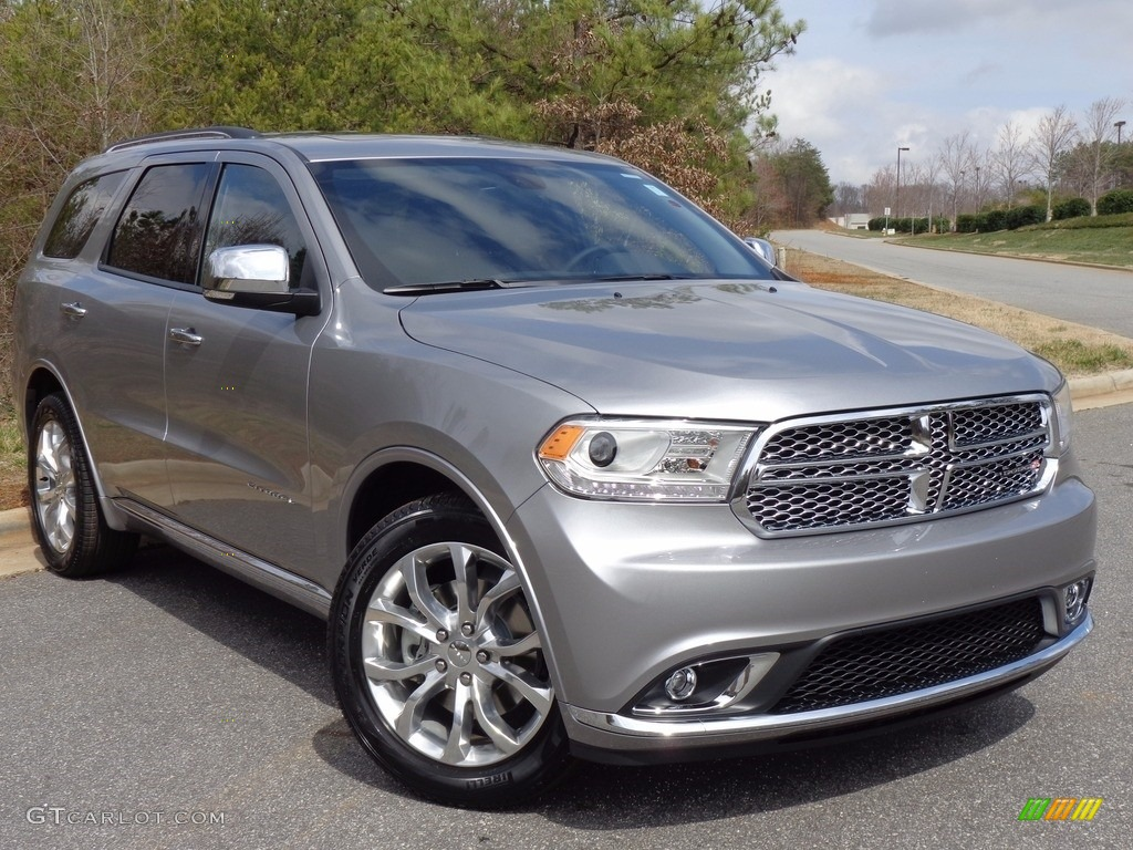 Billet Silver Metallic 2016 Dodge Durango Citadel Exterior Photo #111439336 | GTCarLot.com