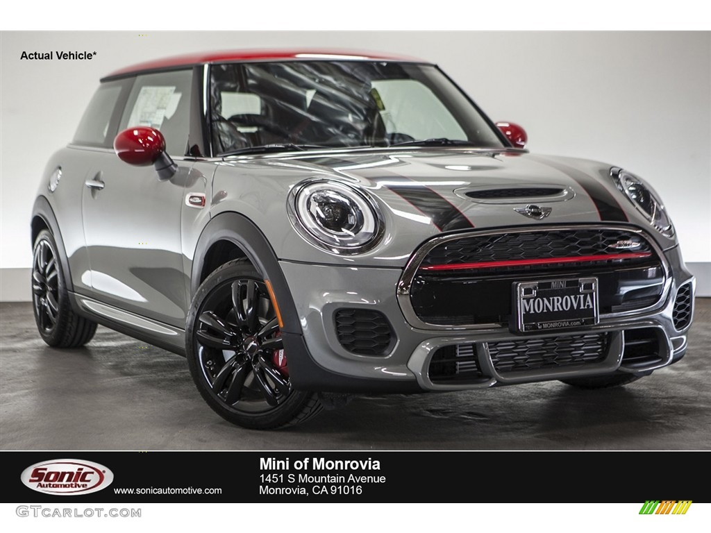 2016 Moonwalk Gray Metallic Mini Hardtop John Cooper Works