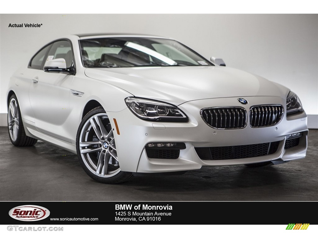 2016 Bmw Individual Frozen Brilliant White Metallic Bmw 6