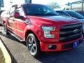 2016 Race Red Ford F150 Lariat SuperCrew  photo #1