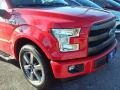 2016 Race Red Ford F150 Lariat SuperCrew  photo #2