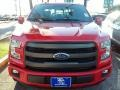 2016 Race Red Ford F150 Lariat SuperCrew  photo #4