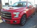 2016 Race Red Ford F150 Lariat SuperCrew  photo #5