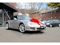 2012 GT Silver Metallic Porsche 911 Carrera Cabriolet #111428133