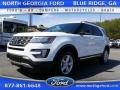 2016 Oxford White Ford Explorer XLT 4WD  photo #1