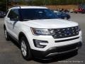 2016 Oxford White Ford Explorer XLT 4WD  photo #7